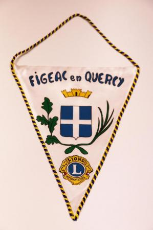 Fanion du club de Figeac